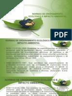 NORMAS DE ORDENAMIENTO ECOLÓGICO E IMPACTO AMBIENTAL.ppt