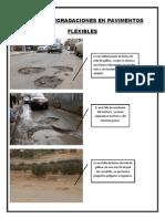 Fallas y Degradaciones en Pavimentos