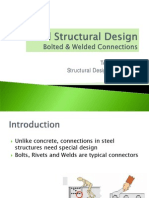 Steel Structural Design Bolted & Welded Connections
