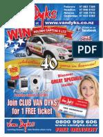 Van Dyks October Mailer