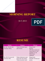 Morning Report 2 Bedah 30 Mei 2013