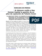 Nota de Prensa Ray Human Capital - Programa Smart Talent Johnson & Johnson.doc