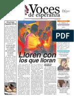 Voces de Esperanza 26 de Octubre de 2014