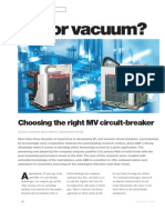 Choosing the Right MVcircuit-breaker