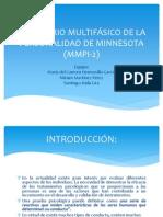 MMPI - 2 Aplicacion y calificación.ppt