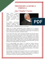INTÉRPRETES DE LA MUSICA CRIOLLA.docx