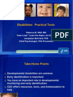 Early Id of Dev Disabilities Practical Tools Foster Adoptive Ppt