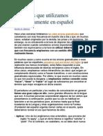 13 verbos que utilizamos incorrectamente en español.doc