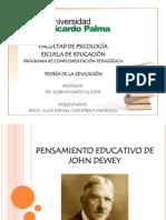 PENSAMIENTO EDUCATIVO DE JOHN DEWEY.pptx