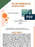 EL USO DE BOMBAS EN LA ACUICULTURA.pptx