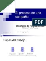 El proceso de una campaña