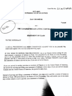 Jian Ghomeshi lawsuit against CBC