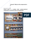 Components of Control Panel