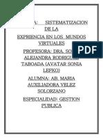 EXPERIENCIAS AVATAR - MUNDO VIRTUAL.pdf
