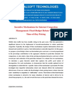IEEE 2014 JAVA NETWORKING PROJECT Incentive Mechanisms for Internet CongestionManagement Fixed-Budget Rebate VersusTime-Of-Day Pricing