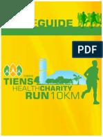 Tiens Health Charity Run - Guide Book