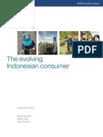 Indonesia Consumer Report 2014