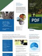 VetStem Small Animal Owner Brochure