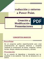 Creacion y Modificacion de Presentaciones en Power Point