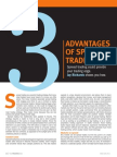 3 Advantages of Spread Trading