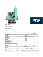 - 082119696710 - Total Station Ruide RTS  822r, 822