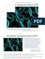 Best Strategic Learning Investment for Marketers in 2010?