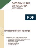 Laboratorum Klinik Dokter Keluarga2013
