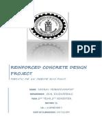 Reinforced Concrete Design Project