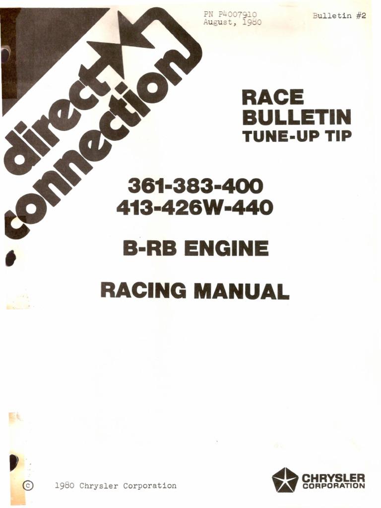 b rb engine