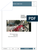 Public Bike Share Feasibility Study