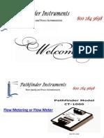 Flow Metering or Flow Meter