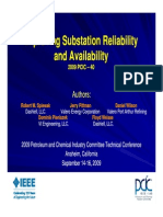 Improving Substation Reliability & Availability_09162009