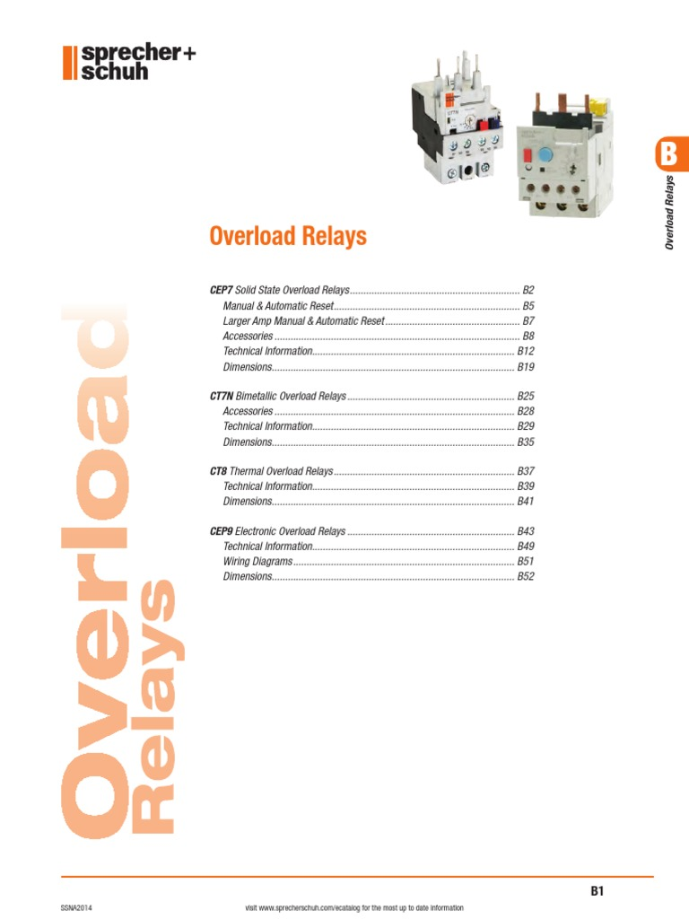 motor protection section b relay switch rh scribd com Latching Relay Diagram Starter Relay Diagram