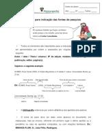 Ficha de Pesquisa Bibliográfica