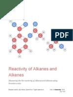 Reactivity of Alkanes and Alkenes