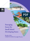 Emerging Issues for Small Island Developing States