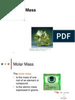 ppt- molar mass