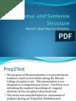 Prep2Test Grammar and Sentence Structure.pdf