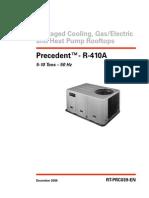 catalog Trane Pakage 5-10 TR 410a
