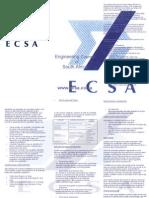 ECSA Brochure