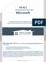 Microsoft 70-411 Exam Questions Updated October 2014