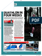 Race Duathlon in Four Weeks 1