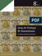 Guía de aprendizaje Absolutismo (Monarquía Absoluta en Europa)