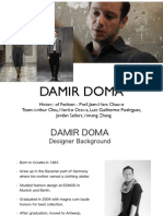 Damir Doma History Presentation