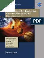 Robotics, Tele-Robotics and Autonomous Systems Technology Area Strategic Roadmap
