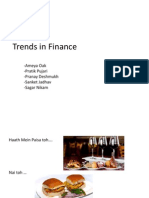 Trends in Finance