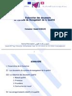 Elaboration des documents du SMQ (intéressant).ppt