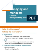 1. Managing & Managers
