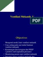 Ventilasi Mekanik I