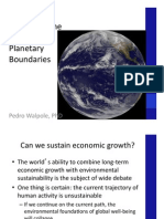 5 the Anthropocene and Planetary Boundaries